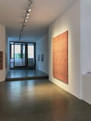 Maibritt Ulvedal Bjelke, exhibition view at Galerie Pugliese Levi